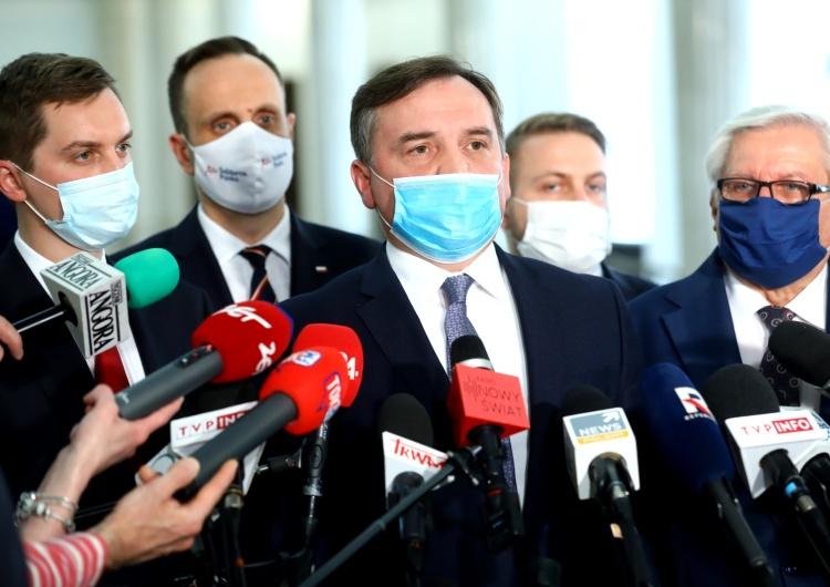 Ziobro: SP jest przeciw przenoszeniu kompetencji państwa polskiego na rzecz Brukseli
