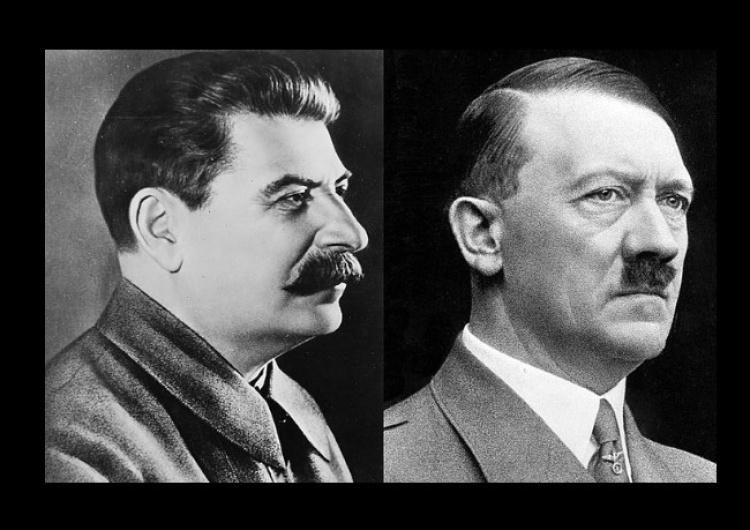 """Stalin i Hitler Paradne! Projekt ustawy zakazujący zestawienia Hitlera i Stalina. """"Misja humanitarna ZSRR podczas wyzwalania…"""""""