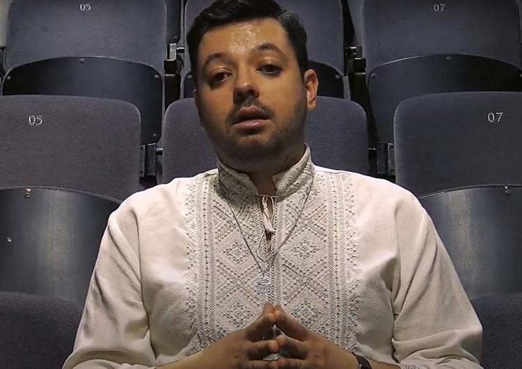 Igor Isajew [FOTO] Ukraiński aktywista