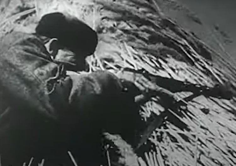 """kadr z filmu The Bielski Brothers An Introduction [Tylko u nas] Tadeusz Płużański: """"Bohaterscy"""" Bielscy mordują Polaków w Nalibokach"""