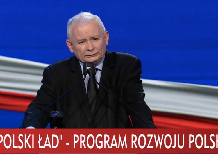 Jarosław Kaczyński: Polakom należy się takie życie jak na Zachodzie