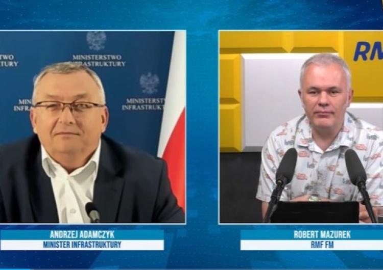 [video] Gorąco w RMF FM. Red. Mazurek do ministra: