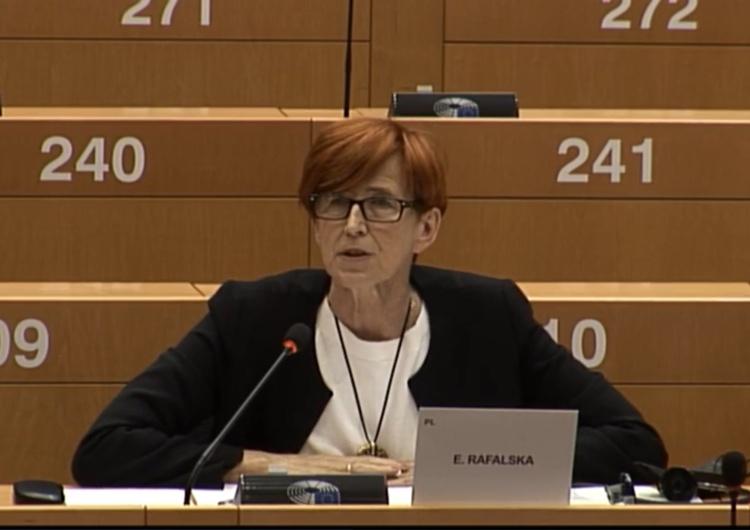 Elżbieta Rafalska [Tylko u nas] Wysłuchanie nt. Amazona w PE: Ta firma to bezgraniczne państwo!