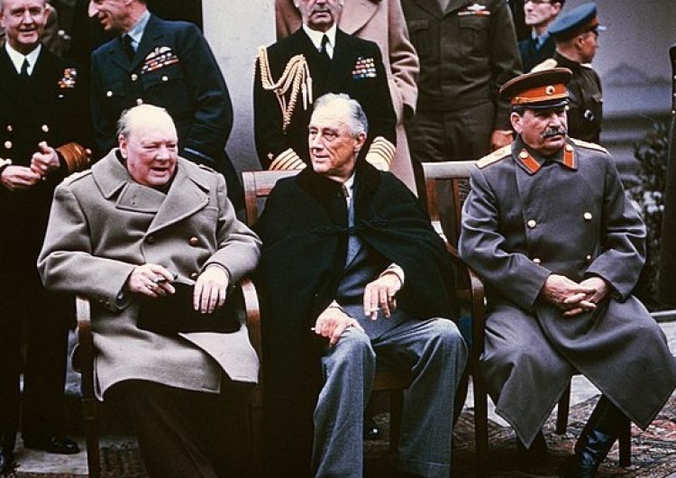 Winston Churchill, Franklin D. Roosvelt, Józef Stalin, konferencja w Jałcie [Tylko u nas] Cezary Krysztopa: Jałta 2.0?