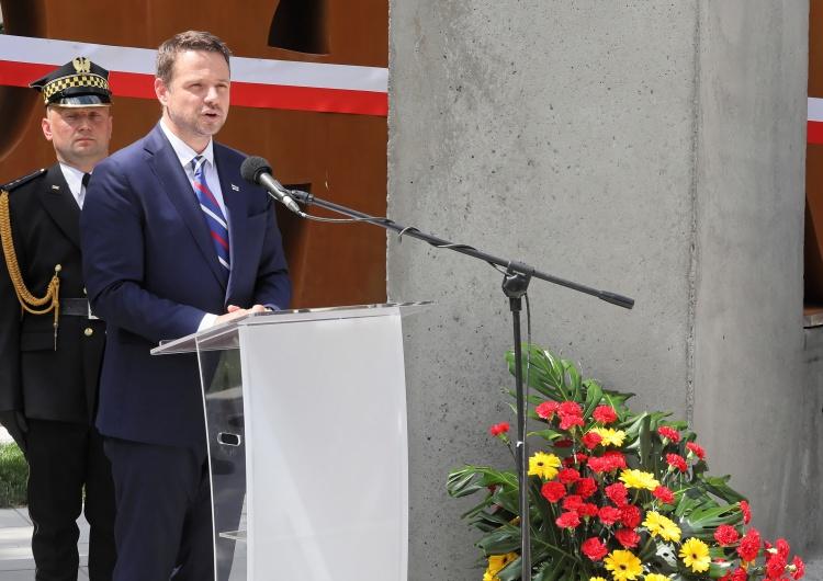 Rafał Trzaskowski odsłania