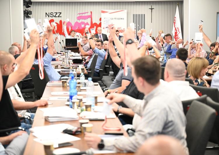 [FOTO] I Walne Zebranie Delegatów Funkcjonariuszy i Pracowników Służby Więziennej NSZZ