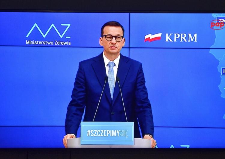 Premier Mateusz Morawiecki Kolejne zmiany w obostrzeniach. Podano datę