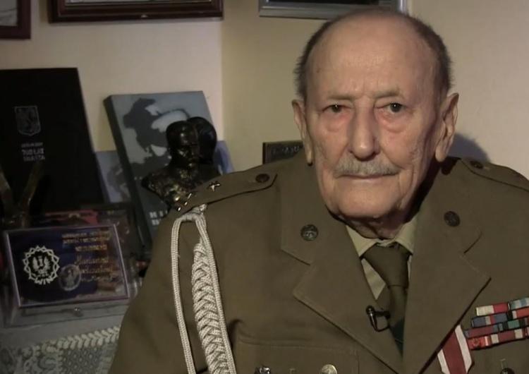 płk Marian Pawełczak pseud. Morwa Zmarł płk Marian Pawełczak