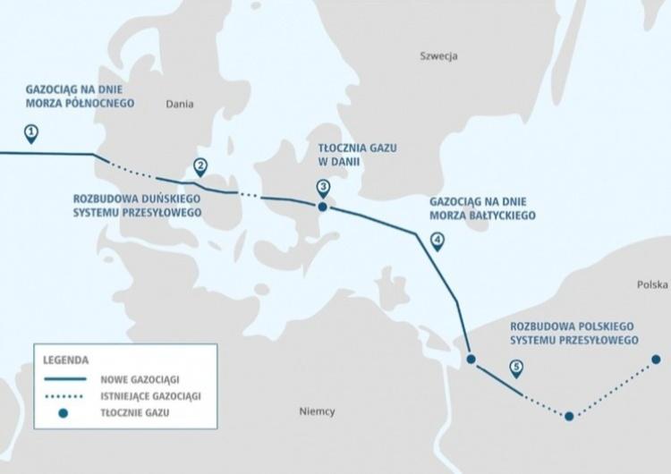 Baltic Pipe Piotr Naimski: Baltic Pipe jest prowadzona zgodnie z czasem