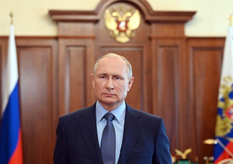 Russian President Vladimir Putin Sankcje przeciwko Rosji za aneksję Krymu przedłużone o kolejny rok