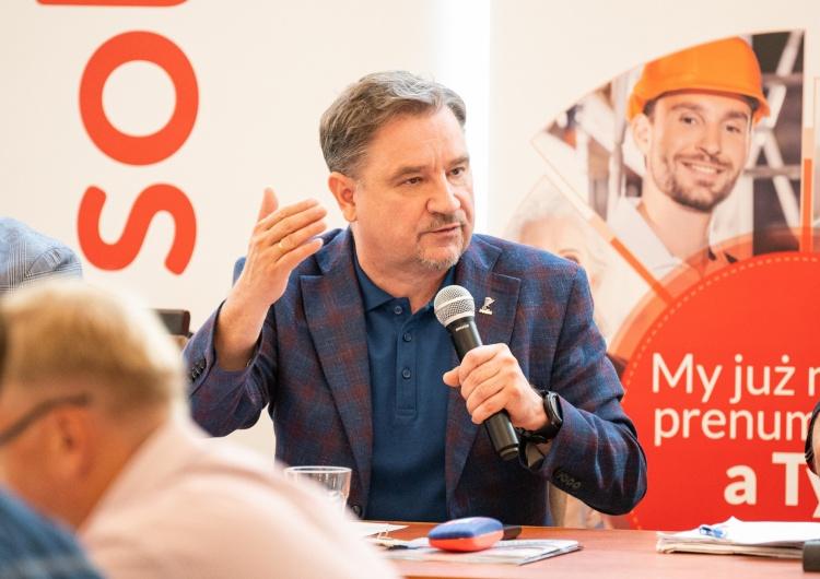 Piotr Duda o słowach Tuska ws. 500 plus: Nie przypominam sobie spotkań z Tuskiem i Kopacz w tak ważnej sprawie