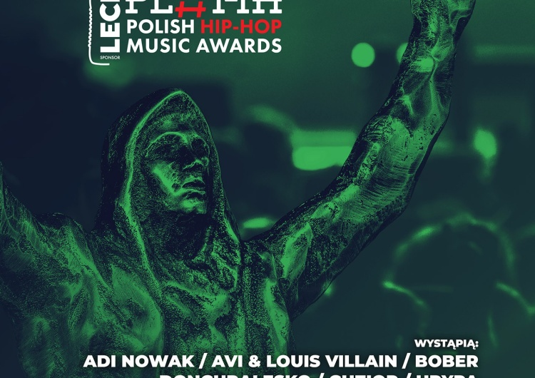 Plakat Kto zagra na Lech Polish Hip-Hop Music Awards?