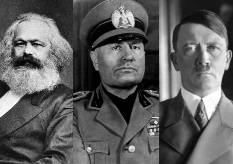Karol Marks, Benito Mussolini, Adolf Hitler Uczniowie Marksa? Prof. Marek Bankowicz: Socjalizm narodowego socjalizmu nader kłopotliwy dla światowej lewicy. Cz. 2