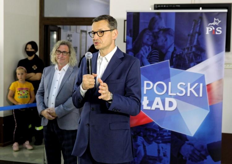Premier: Polski Ład doprowadzi do przełomu w małych miejscowościach
