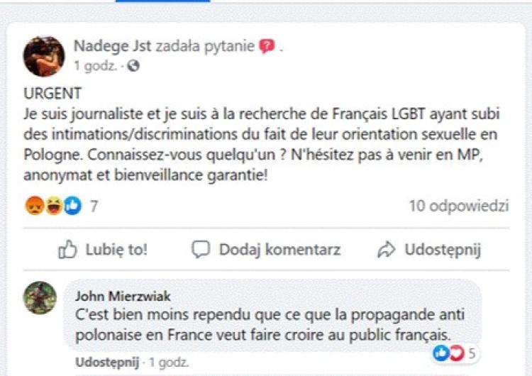 Journaliste française cherche désespérément homo persécuté en Pologne