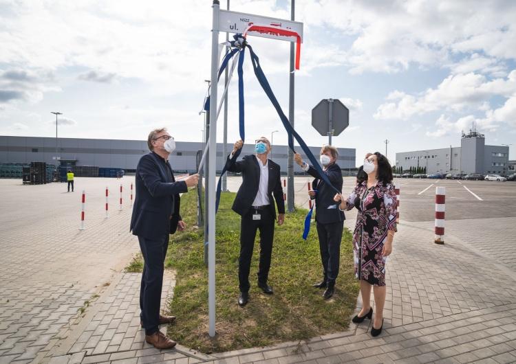 Ulica Solidarności – symboliczne zakończenie rozbudowy fabryki Volkswagen Poznań