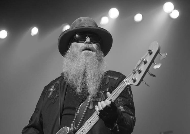 Dusty Hill Nie żyje basista ZZ Top