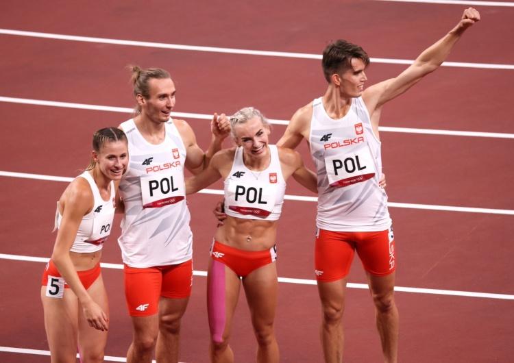 Tokio 2020. ZŁOTO DLA POLAKÓW! Polska najlepsza w finale sztafety mieszanej