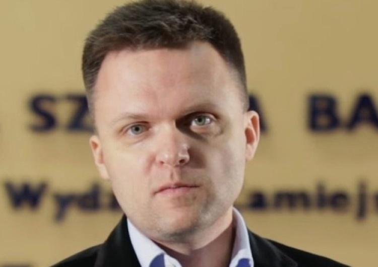 Lider Polski 2050 Szymon Hołownia