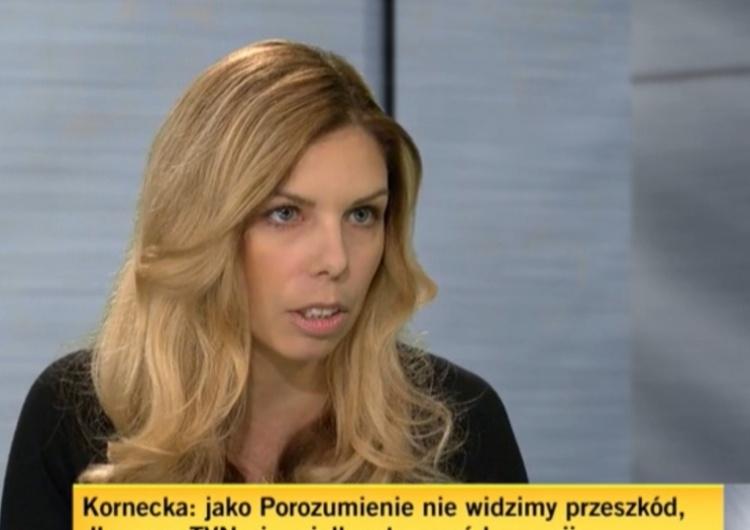 Wiceminister rozwoju, pracy i technologii Anna Kornecka (Porozumienie / TVN24/zrzut ekranu Krytykowała Polski Ład. Wiceminister z Porozumienia straci stanowisko?