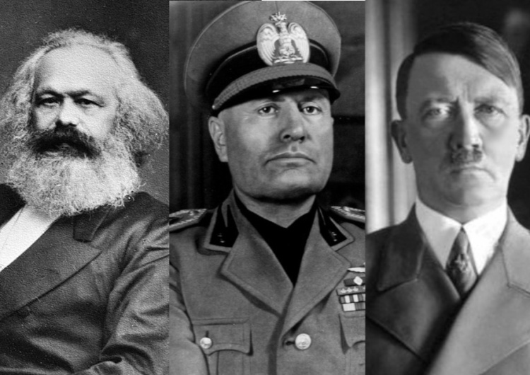 Marks, Mussolini, Hitler Uczniowie Marksa? Prof. Marek Bankowicz: III Rzesza - państwo bez wątpienia socjalistyczne. Cz. 5