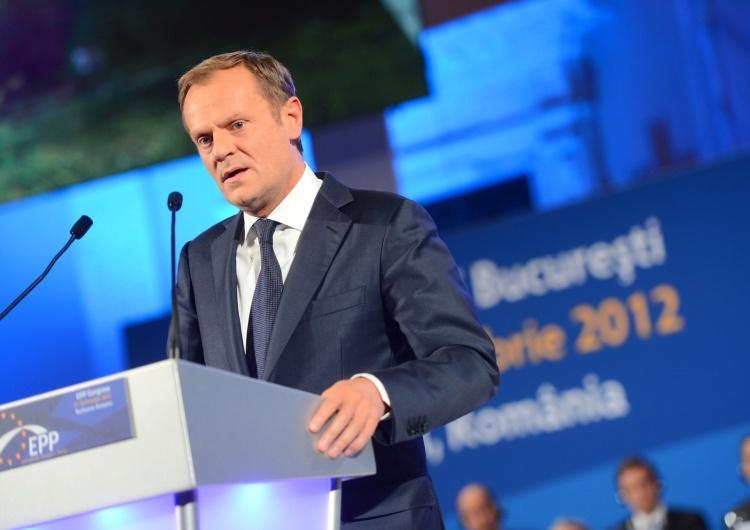 Były premier, p.o. przewodniczącego Platformy Obywatelskiej Donald Tusk