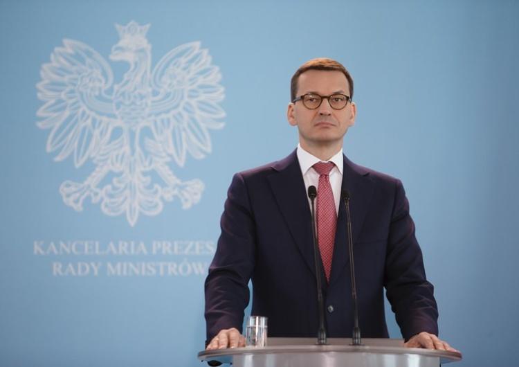 Premier Morawiecki: