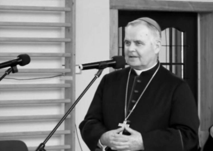 bp Marian Duś [video] Uroczystości pogrzebowe bp. Mariana Dusia:
