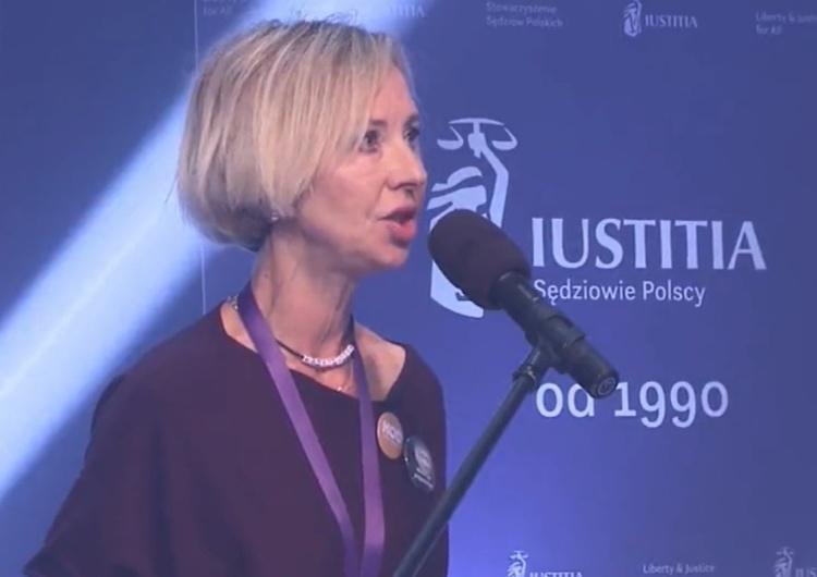 Sława Michalak KOD [VIDEO] Przedstawicielka politycznego KOD na gali