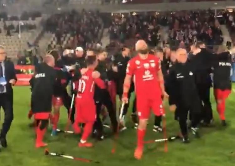 [VIDEO] To trzeba zobaczyć! Eksplozja radości! Polska z brązowym medalem mistrzostw Europy w Amp Futbolu