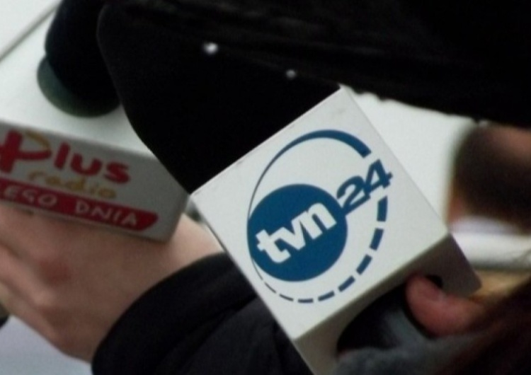 Logo TVN24, zdjęcie ilustracyjne