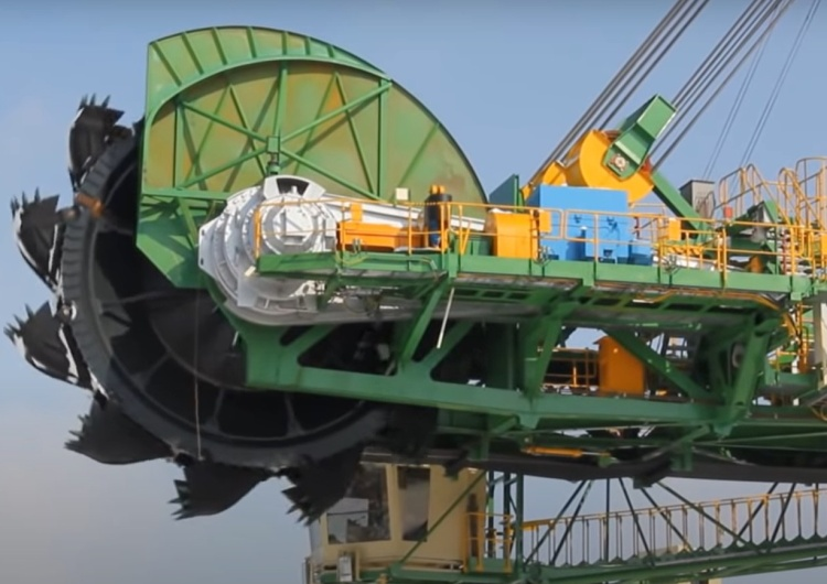 koparka kopalni w Turowie