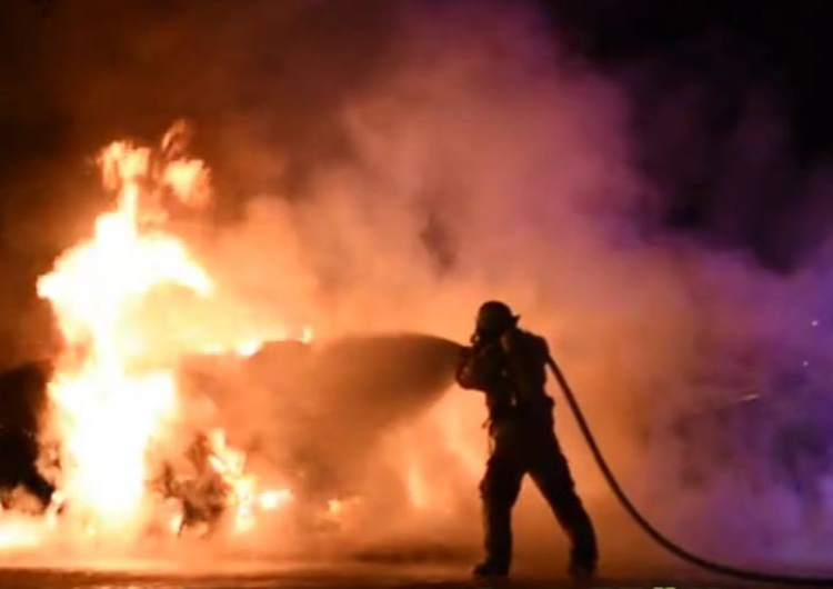 Powrót pożarów w Grecji? Wielki pożar w Nea Makri w regionie Attyki; zarządzono ewakuację