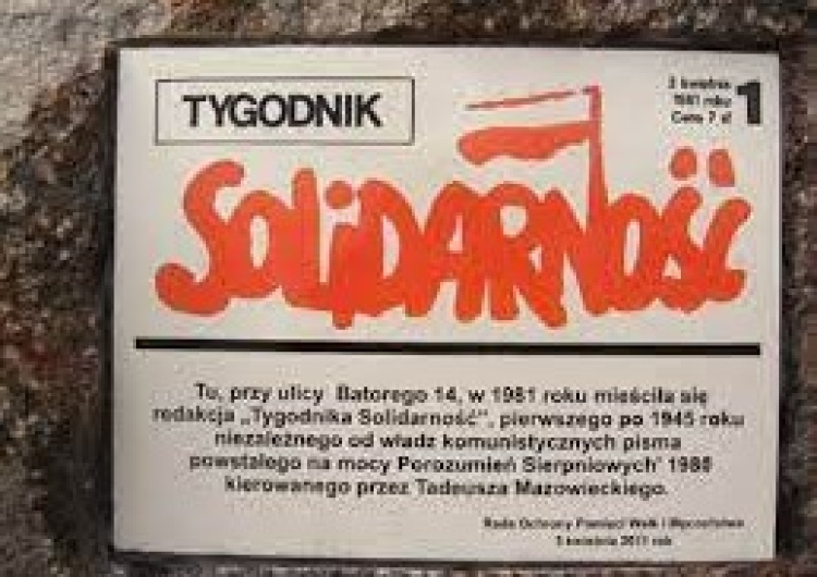 Tygodnik Solidarność ( Tysol) nommé pour le prix BohatrONy