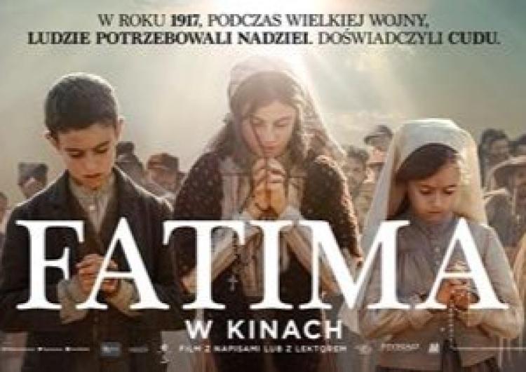 Fatima Film FATIMA - Prawdziwa historia cudu. Od 1 października w kinach