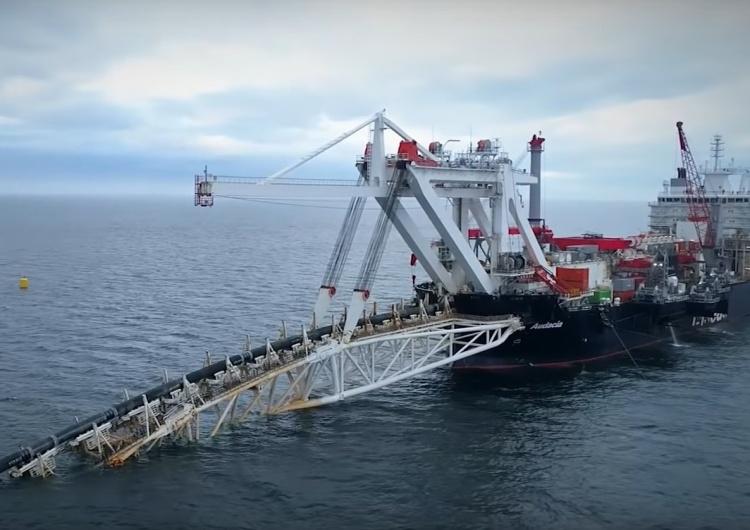 układanie Nord Stream II Ekspert: No to już wiecie po co Niemcom duużo gazu z Rosji