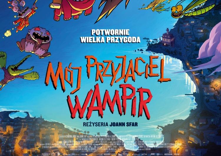 Mój Przyjaciel Wampir Przyjazne straszki na plakacie animacji MÓJ PRZYJACIEL WAMPIR (29 października w kinach)