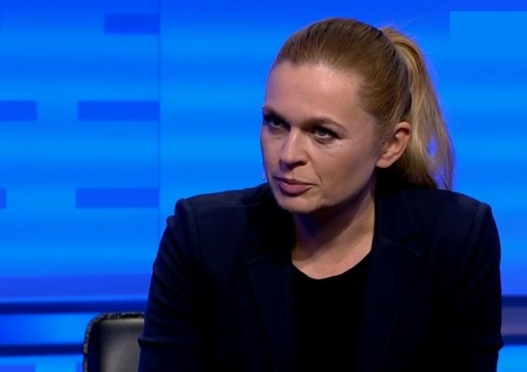 zrzut ekranu Nowacka:  Musimy zrobić wszystko, żeby odsunąć ich od władzy, bo za 2 lata Polska może nam zbrunatnieć