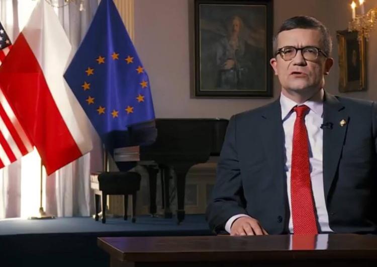 Ambasador RP w USA - Piotr Wilczek w oficjalnym piśmie zwrócił się do Jana Tomasza Grossa