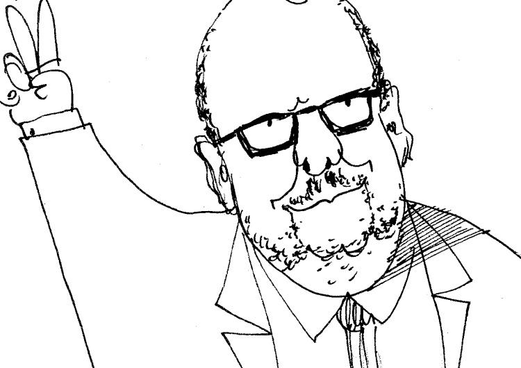 [Kliknij aby zobaczyć całość] Nowy rysunek Krysztopy: Adamowicz dłużej niż Putin