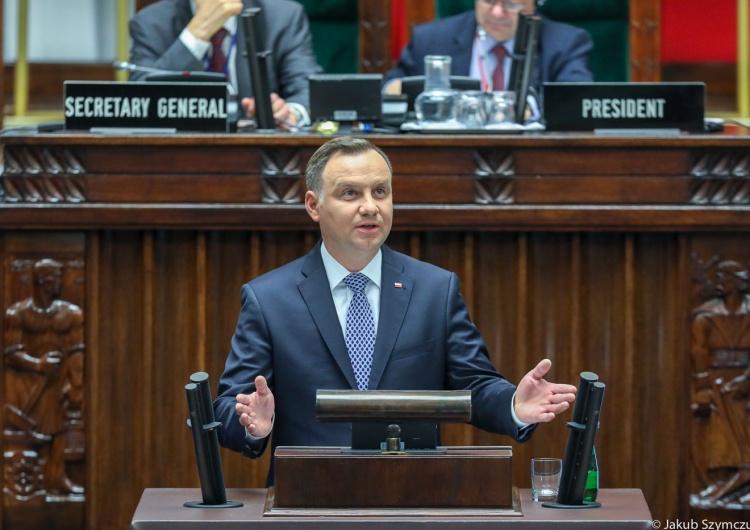 Andrzej Duda: Rosja stwarza zagrożenie dla pokoju i stabilności