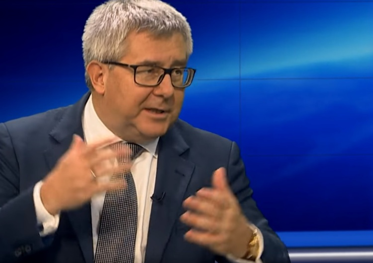 """Trafił Kosa na R. Czarneckiego: Verhofstadt kojarzy mi się z filmem """"Głupi i głupszy"""""""