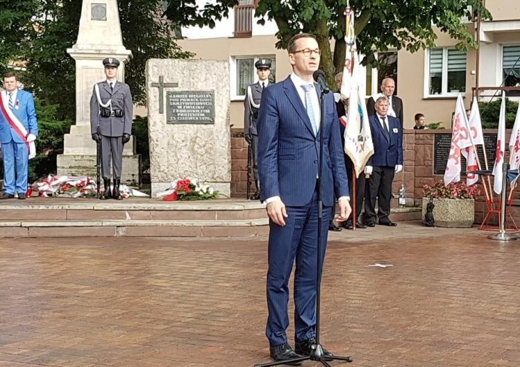 """Mateusz Morawiecki: """"Radom stał się symbolem, z którego urodziła się Solidarność"""""""