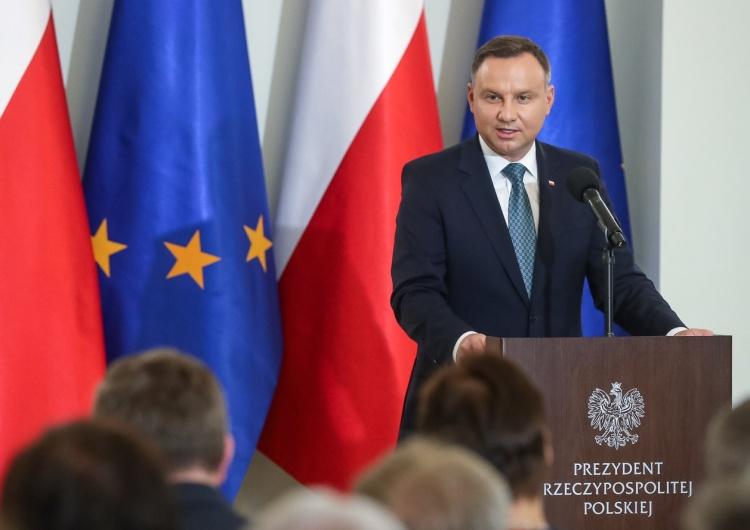 """Grzegorz Jakubowski Prezydent Andrzej Duda: """"Nie ma przyszłości Europy bez Polski"""""""
