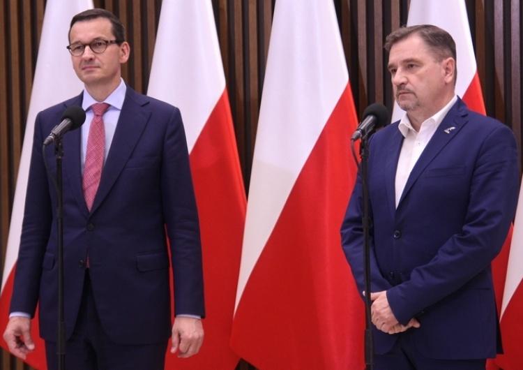 Piotr Duda: Czekamy aż premier przedstawi nam wnioski z dzisiejszego spotkania. Dla nas mogą być jedne