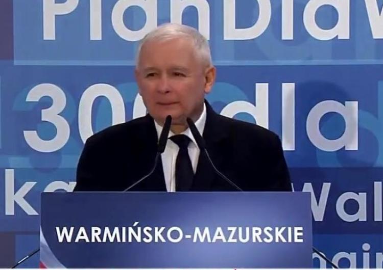 """[video] Jarosław Kaczyński: """"Dobry samorząd może być tylko wtedy, jeżeli za nim stoi wspólnota..."""""""