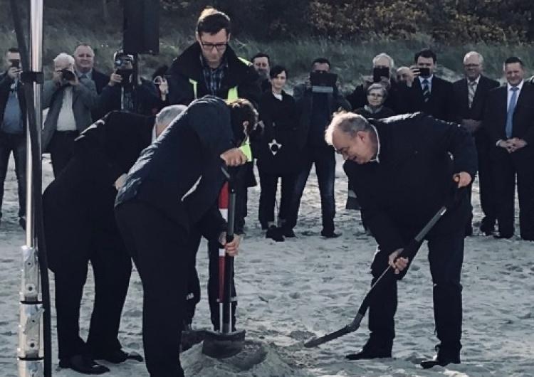 """Jarosław Kaczyński: """"Poprzez przekopanie kanału pokazujemy ostatecznie, że mamy pełną suwerenność"""""""