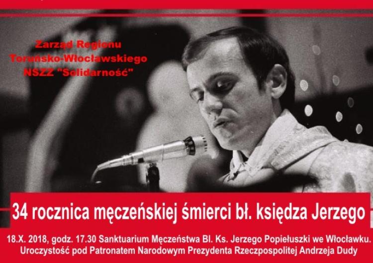 Obchody 34. rocznicy męczeńskiej śmierci bł. ks. Jerzego Popiełuszki odbyły sie we Włocławku