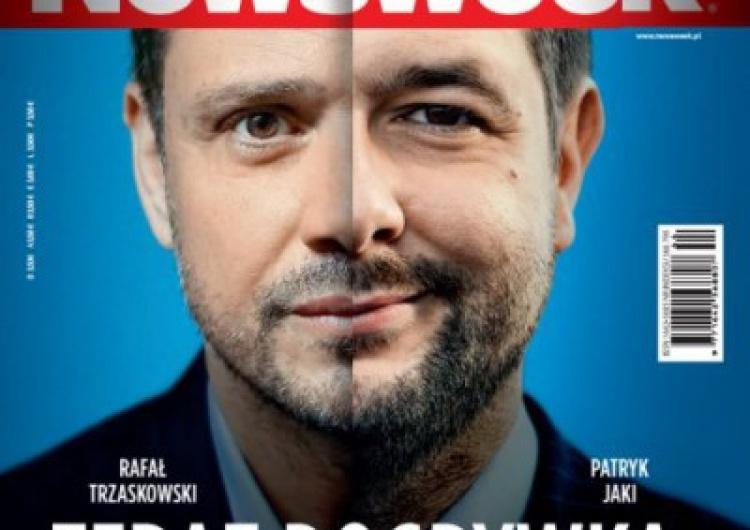 """Ta okładka przejdzie do historii. Wtopa """"Newsweeka"""", kierowanego przez Tomasza Lisa"""