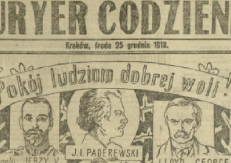 """""""Oto nam, oto Polakom rodzi się Bóg"""". Przegląd świąteczenej prasy z.... 1918 r."""